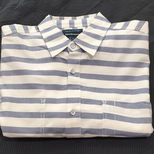 Blue Label by Saks Fifth Avenue Button Down